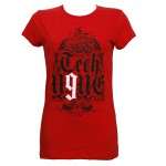Tech N9ne - Ladies Red Spade T-Shirt - Ladies Large