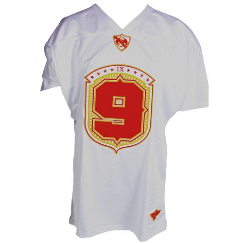 Tech N9ne - White Football Jersey 2013