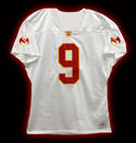 Tech N9ne - White Football Jersey - 3-XL