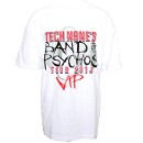 Tech N9ne - White Band of Psychos VIP T-Shirt - Extra Large
