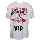 Tech N9ne - White Hostile Takeover VIP T-Shirt