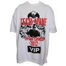 Tech N9ne - White Live In Canada 2012 VIP T-Shirt