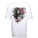 Tech N9ne - White Sickology 101 VIP T-Shirt - Extra Large