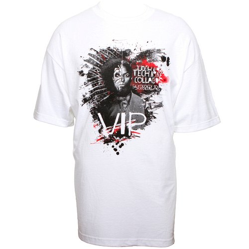 Tech N9ne - White Sickology 101 VIP T-Shirt
