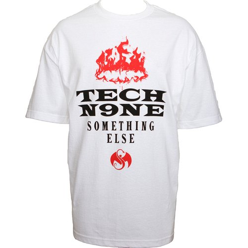 Tech N9ne - White Something Else Presale T-Shirt