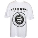Tech N9ne - White Strangeulation Presale T-Shirt - Extra Large