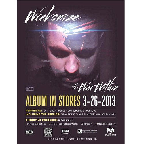"Wrekonize - The War Within Poster 18"" x 24"""