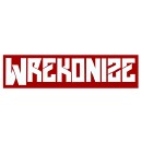 Wrekonize - White Individual Letters Decal